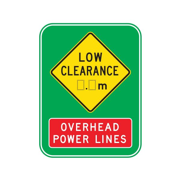 Low Clearance Overhead Power Lines