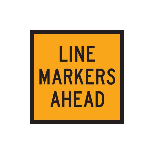 Line Markers Ahead