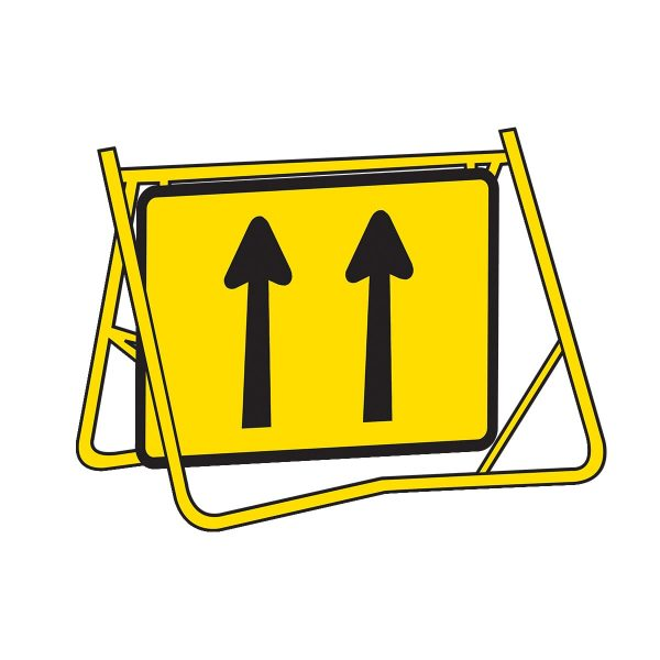 2 Lanes in Direction of Travel & Magnetic Cover