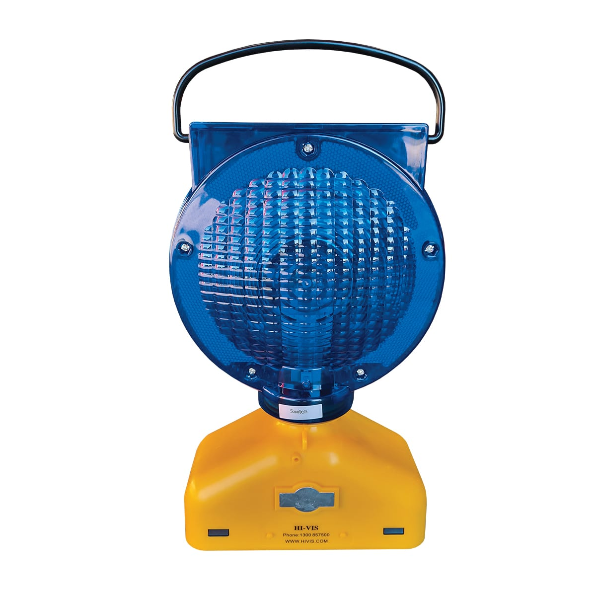 Blue flashing beacon for rail industry