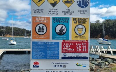 Reflective Decals @ NSW Boat Ramps